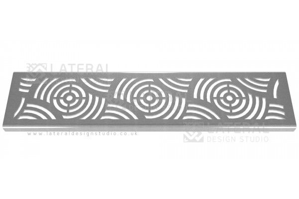 Aquascape - Drainage Channel Cover - Stainless Steel Grate - Waves